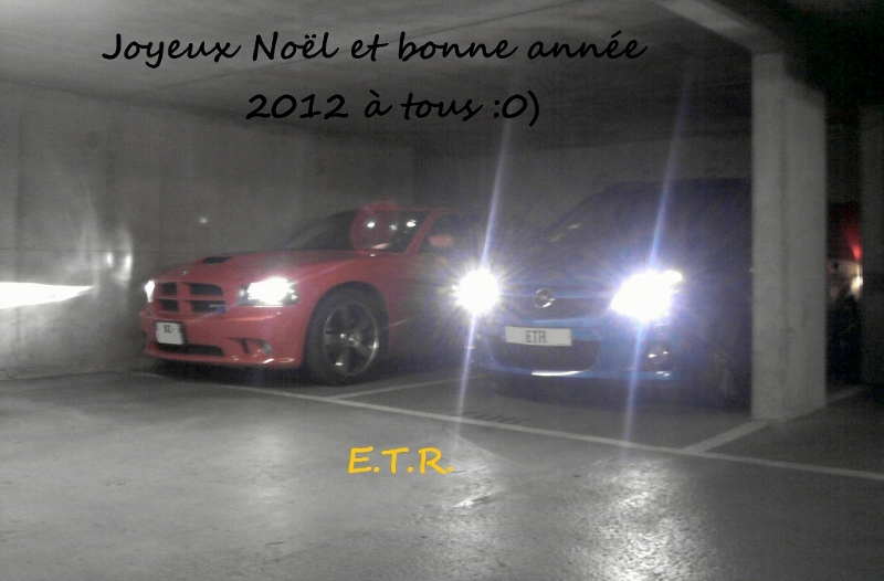 E.T.R. et sa Dodge Charger SRT-8 Super Bee 2009 - Page 6 Voeux_2012